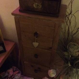 Charity shop pine lovely